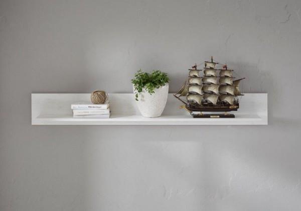 "Wandboard, Wandpaneel ""Feres"" - in Pinie Weiss Nachbildung 150x20x17cm"