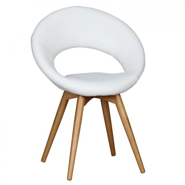 "2er Set Stuhl ""Malina"" Holzstuhl RUbberwood 60x82x45cm Küchenstuhl"