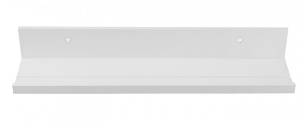 "Spiegelprofi 52005101 Bilderleiste ENZ Wandregal, ""Louisa"" - weiß, 55x12 cm, Regal"