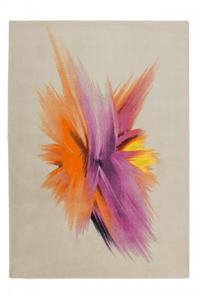 """Beauty.Scouts Kurzflorteppich """"Orchidee"""" bunt, 80x150 cm, 120x170 cm, 160x230 cm, 200x290 cm"""