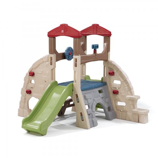 """Kinderspielhaus """"Lilly"""" aus Kunststoff bunt 235x254x180,3cm Spielecenter"""