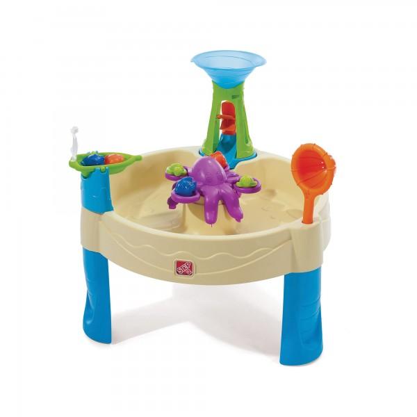 """Wasserspieltisch """"Sylt"""" aus Kunststoff 80x80x72,4cm Sand- und Wassertisch"""