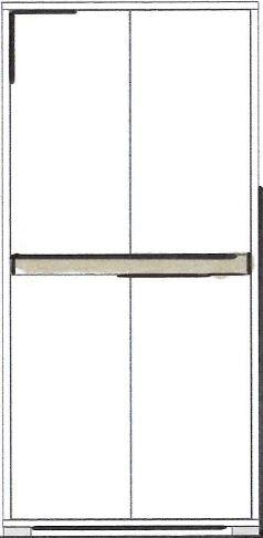 """Midischrank """"Tanja"""", weiß/grau, Badezimmerschrank, Schrank, 67 x 138 x 31 cm"""