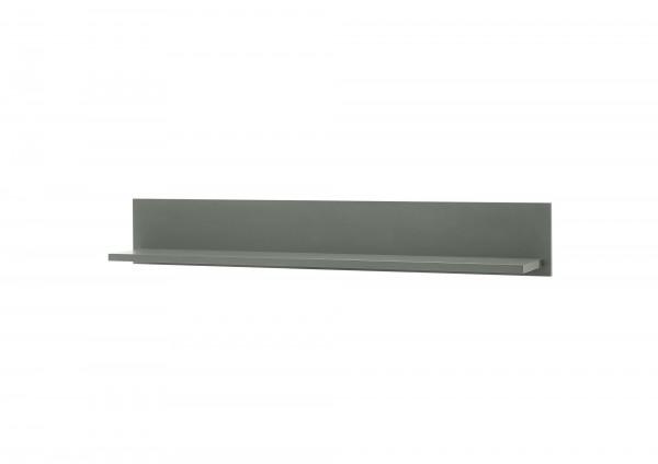 "Wandboard ""Monde"" Holzdekor grün 130x20x20cm Board Wandregal"