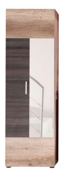"""Garderobenschrank """"Gundula"""", Canyon Monument Oak NB/Touchwood NB, 60 x 191 x 37 cm"""