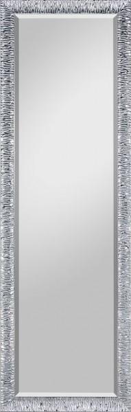 Beauty Scouts Spiegel Wandspiegel Rahmenspiegel Emma II Chromfarbe mit Facette 47x147 cm