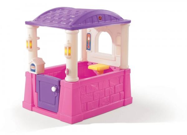 "Kinderspielhaus ""Luisa"" aus Kunststoff 76,2x101,6x109,2cm Kunststoffspielhaus"