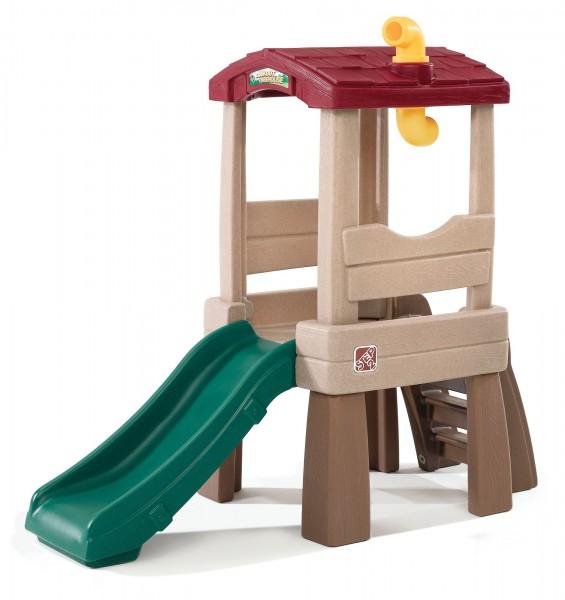 """Kinderspielhaus """"Trisha"""" aus Kunststoff 168,9x63,5x146,1cm mit Rutsche"""