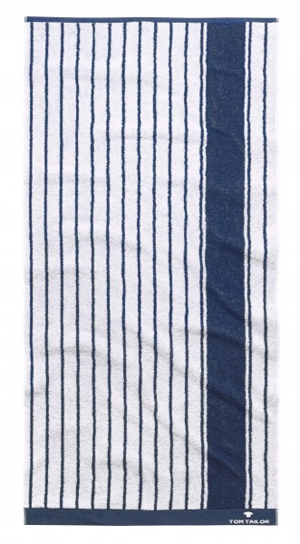 """Tom Tailor Handtuchset """"London"""", 2er-Set, 50 x 100 cm, weiß"""