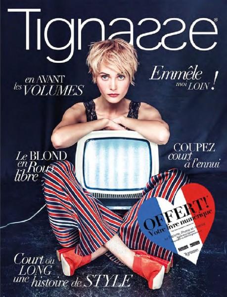 """Lind Coiffeur Images """"Tignasse"""" No. 06, emmêlé moi loin Trendbuch"""