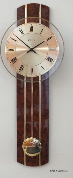 """Wanduhr """"Merten"""" mit Quarzpendelwerk, Uhr, Wanduhr, Pendeluhr, Küche, Wohnzimmer, Diele/Flur,ca. 2"""