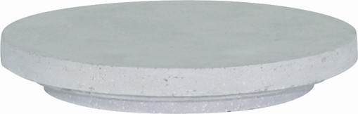 Vase Deckel f. Wall Cone. 20 cm. anthrazit