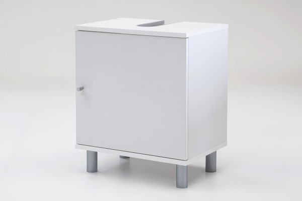 "Waschtischunterschrank ""Ronja 2"", weißes Dekor, 1 Türen, 45 x 55 x 32 cm"