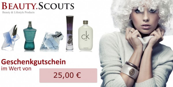 25 € - Geschenkgutschein in edler Verpackung