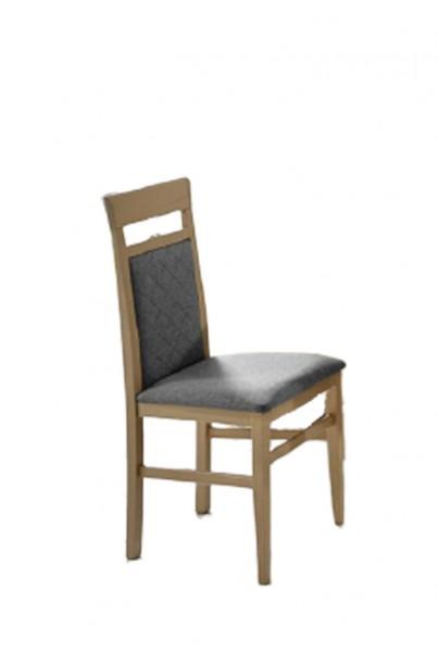 "2er Set Stühle zu Eckbankgruppe ""Vancouver II"" Sonoma Eiche Sägerau Dekor, silbergrau"