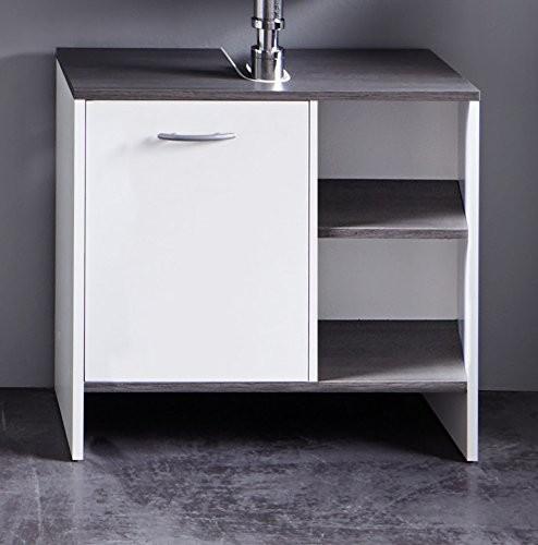 Waschbeckenunterschrank 'Uni Star', weiss Badschrank, Unterschrank, Badezimmerschrank, 60 x 55 x 28