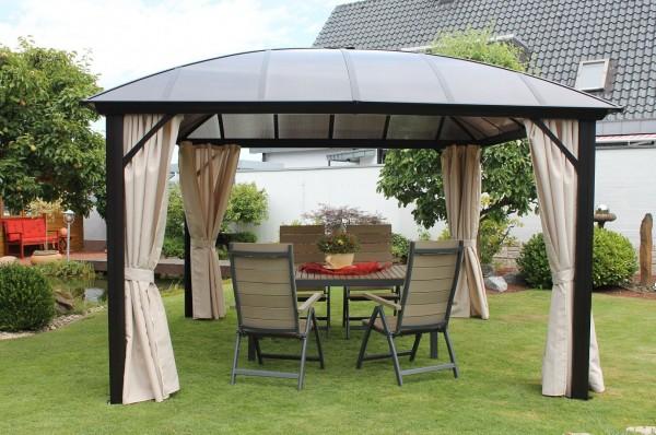 """Pavillon """"Stegla"""" 365x270x365 Parytzelt Sonnendach Dach"""
