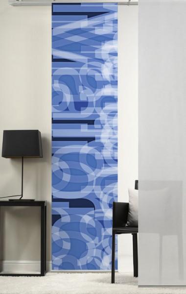 Emotion Textiles 1er Flächenvorhang Schiebevorhang Buchstaben incl. Montagesatz in 4 Farben