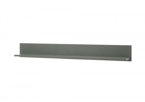 "Wandboard ""Monde II"" Holzdekor grün 160x20x20cm Board Wandregal"