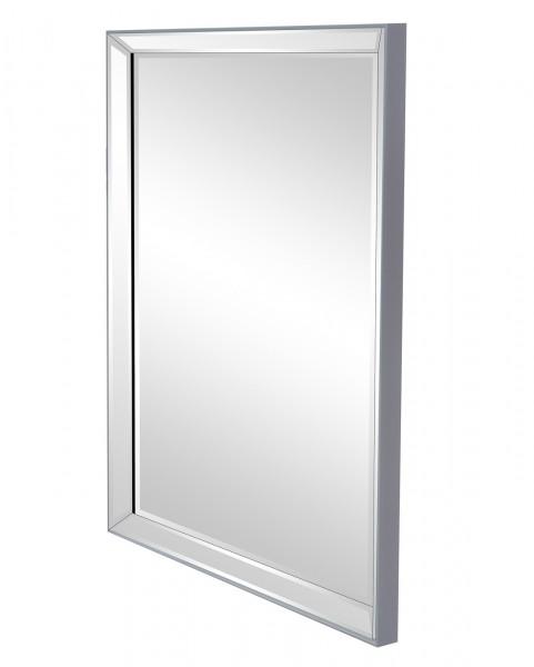 """Spiegelprofi 60976800 Rahmenspiegel NADINE Rahmenspiegel """"Vivien"""" , silbern, mit Rahmen, ca. 60 x 80cm Wandspiegel Spiegel"""