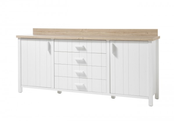 Kommode, Sideboard, Wohnzimmer, Mare VI, Beauty.Scouts, Pinie weiss