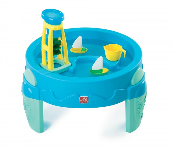 """Wasserspieltisch """"Erni"""" aus Kunststoff 80x80x70,8cm Sand- und Wassertisch"""