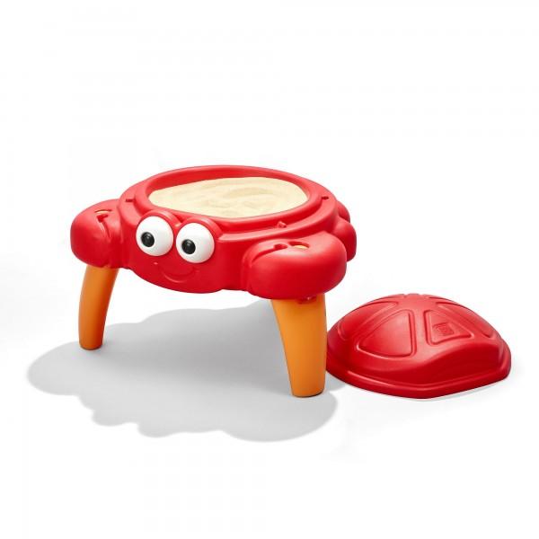 "Sandkasten ""Cuddle"" rot Kunststoff 61,6x61,9x55,9cm Sandkiste"
