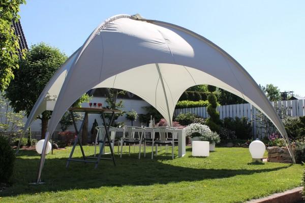 """Kuppelzelt """"Mia XL"""" 500x500x350 cm Parytzelt Sonnendach Dach"""