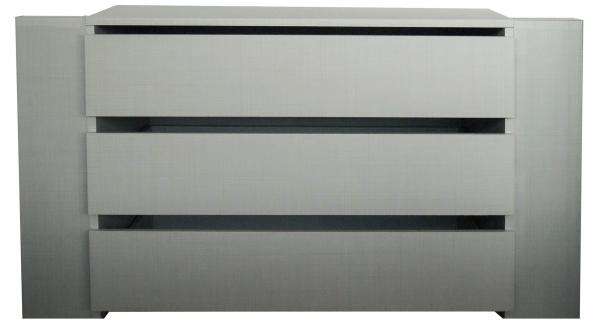 """Schubkasteneinsatz """"Melboo"""" grau 3 Schubkästen Rastermaß 90cm 87x54x42cm (BxHxT) Zubehör"""