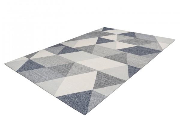 """Teppich """"Celina"""" schwarz grau weiß Design Ethnolook pflegeleicht Outdoorteppich Indoortepp"""