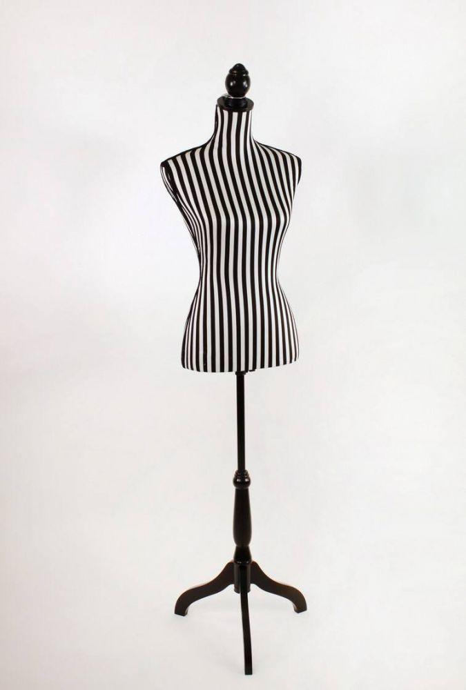 schneiderb ste stripes stars schwarz weiss gestreift ebay. Black Bedroom Furniture Sets. Home Design Ideas
