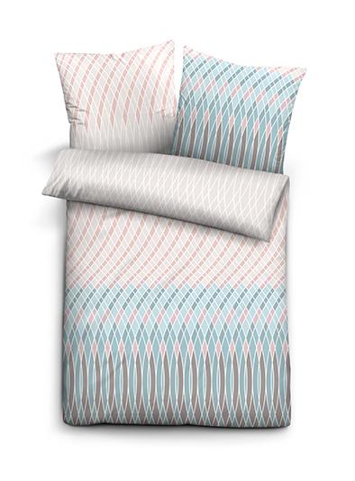 beauty scouts baumwoll single jersey bettw sche toni grau ebay. Black Bedroom Furniture Sets. Home Design Ideas