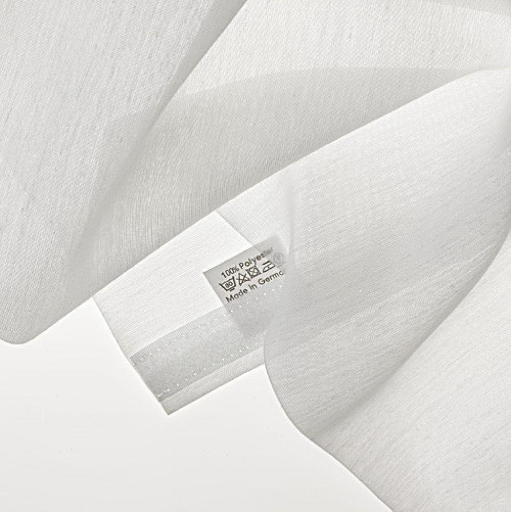 fl chenvorhang schiebevorhang 3er set lindenblatt in 3 farben inkl montagesatz ebay. Black Bedroom Furniture Sets. Home Design Ideas