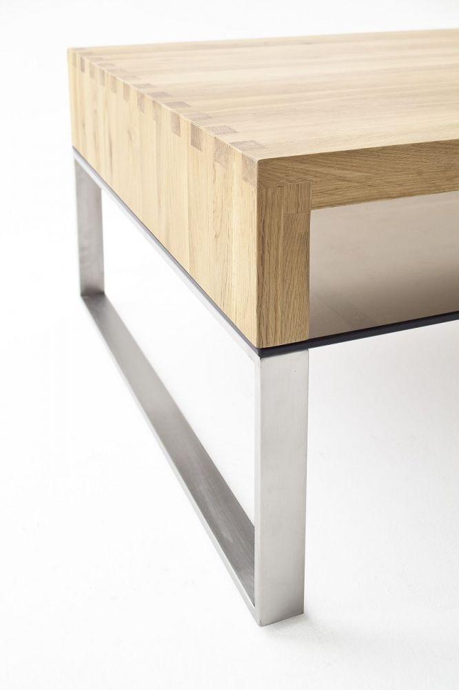 couchtisch alexandria couchtisch massivholz eiche glas bronze metall edelsta ebay. Black Bedroom Furniture Sets. Home Design Ideas